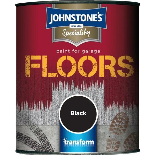 Johnstones - Floor Paint Black 0.25L