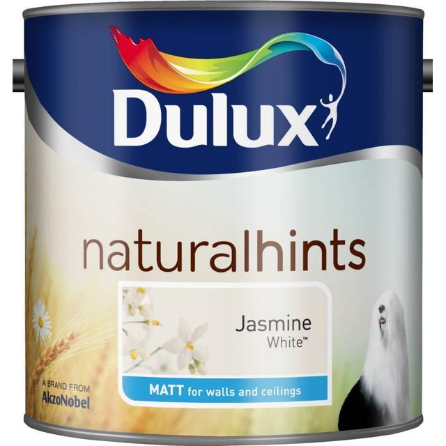 Dulux Natural Hints Matt Wall Paint, Ceiling Paint White 2.5L