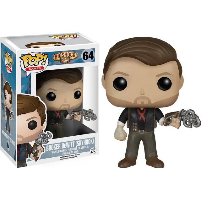 Funko Pop! Games Bioshock Booker Dewitt with Skyhook