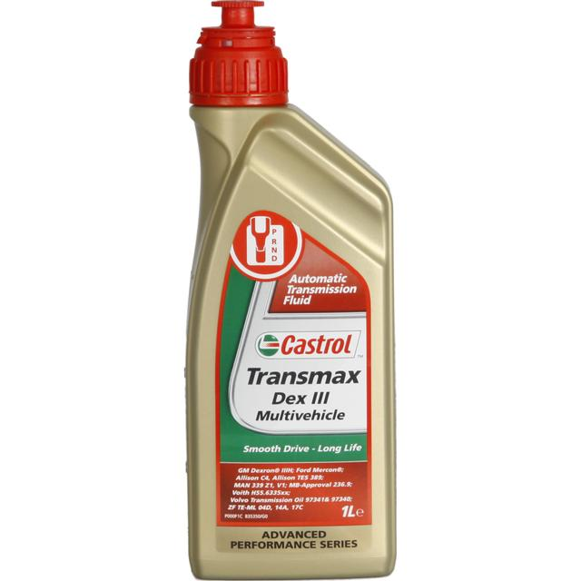 Castrol Transmax Dex III Multivehicle 1L Automatic Transmission Oil