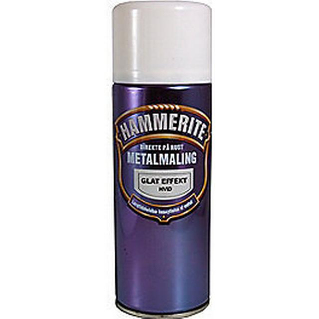 Hammerite Smooth Effect Metal Paint White 0.4L