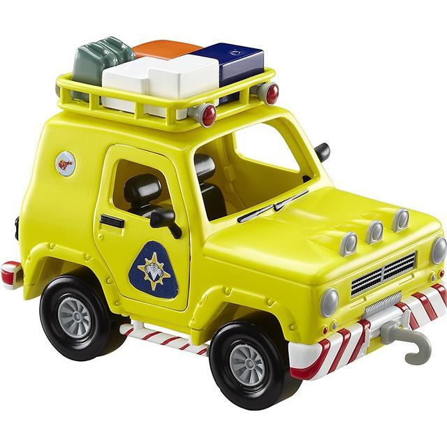 Character Fireman Sam Push Along Vehicle Mountain Rescue 4x4