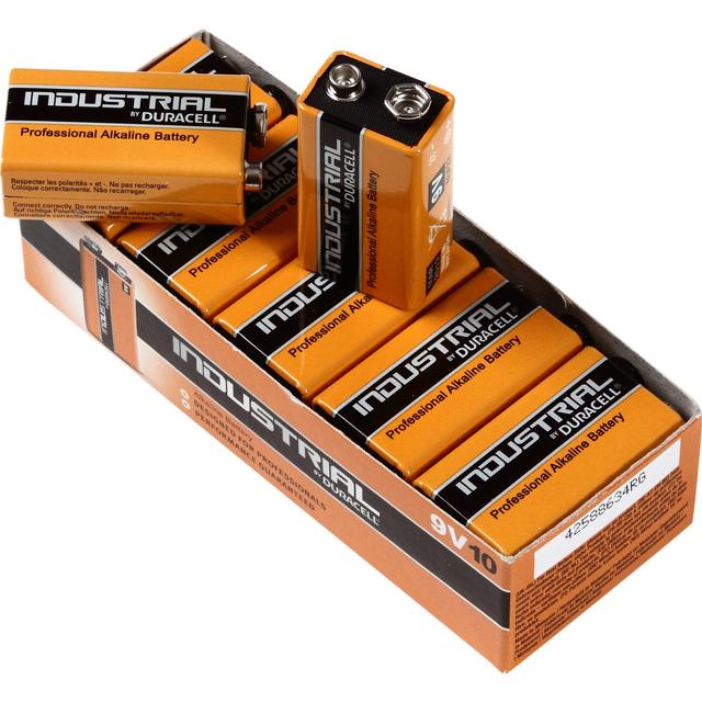 Duracell 9V Industrial 10-pack