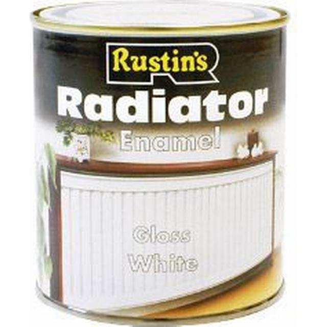 Rustins - Radiator Paint White 0.5L