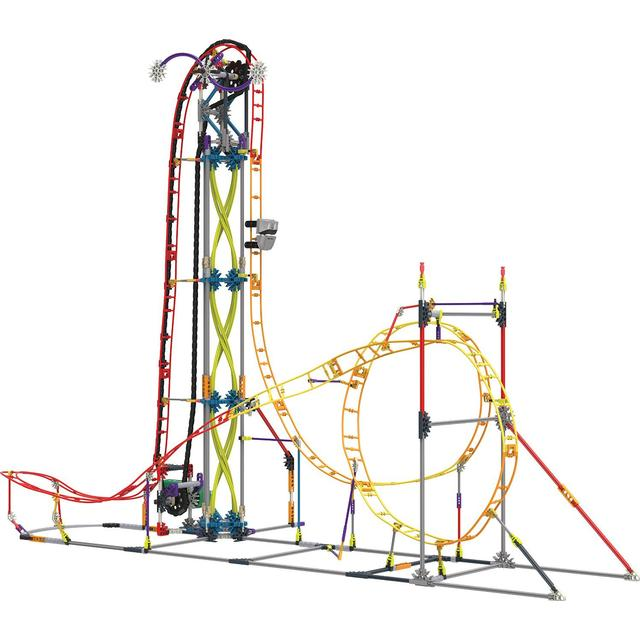 Knex Electric Inferno Roller Coaster Building Set