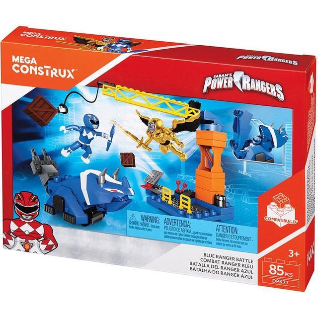 Mega Bloks Power Rangers Blue Ranger Battle