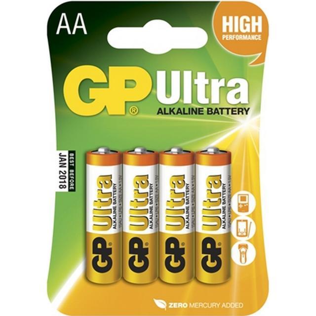 GP Batteries 15AU AA LR6 Ultra 4-pack