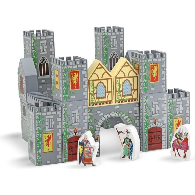 Melissa & Doug Wooden Castle Blocks