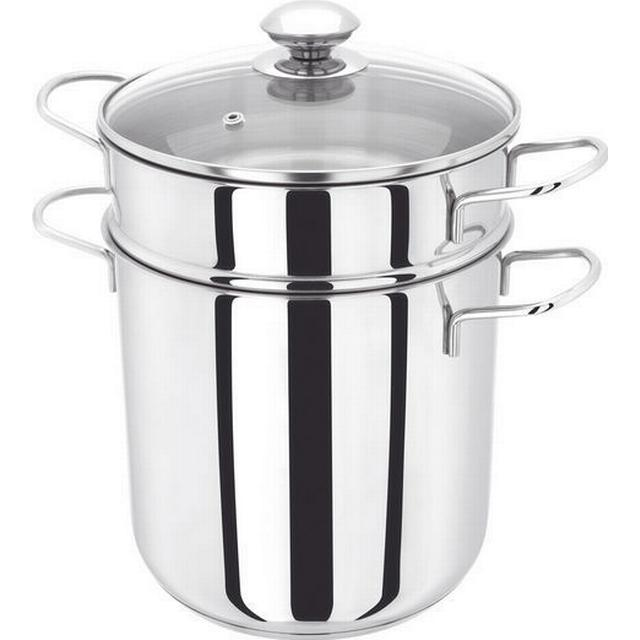 Judge Stainless Steel Pasta Pot with lid 20cm