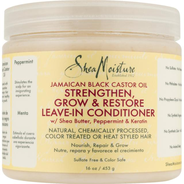 Shea Moisture Jamaican Black Castor Oil Strengthengrow & Restore Leave-In Conditioner 431ml