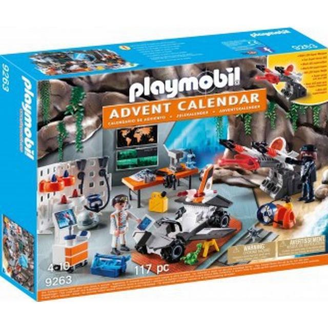 Playmobil Advent Calendar Spy Team Workshop 2017 9263