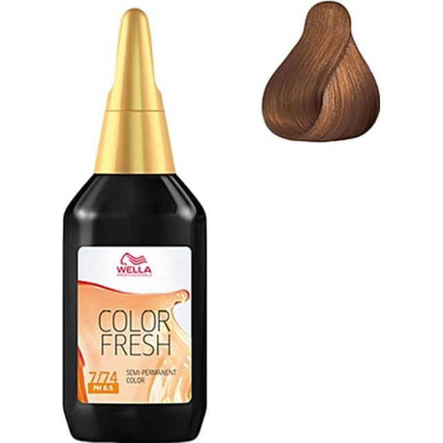 Wella Color Fresh #7/74 Medium Brunette Red Blonde 75ml