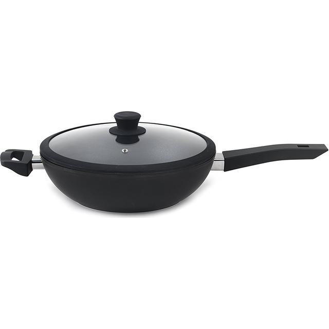 Progress Forged Wok with lid 28cm