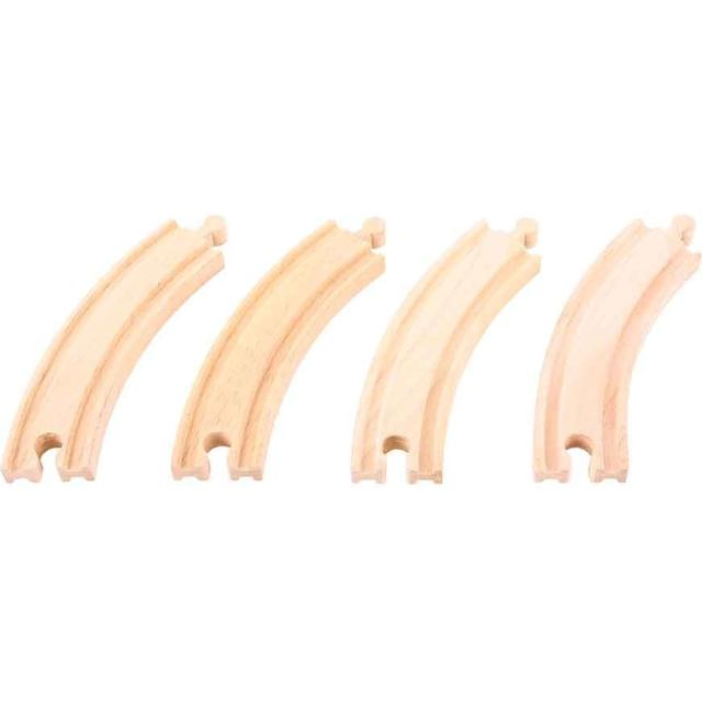 Bigjigs Long Curves Pack of 4