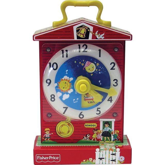 Fisher Price Classics Music Box Teaching Clock