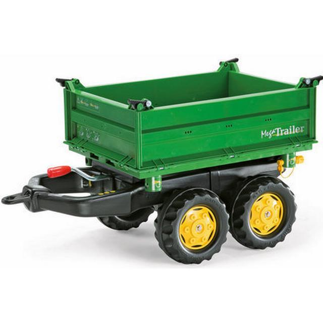 Rolly Toys John Deere Mega Trailer Green