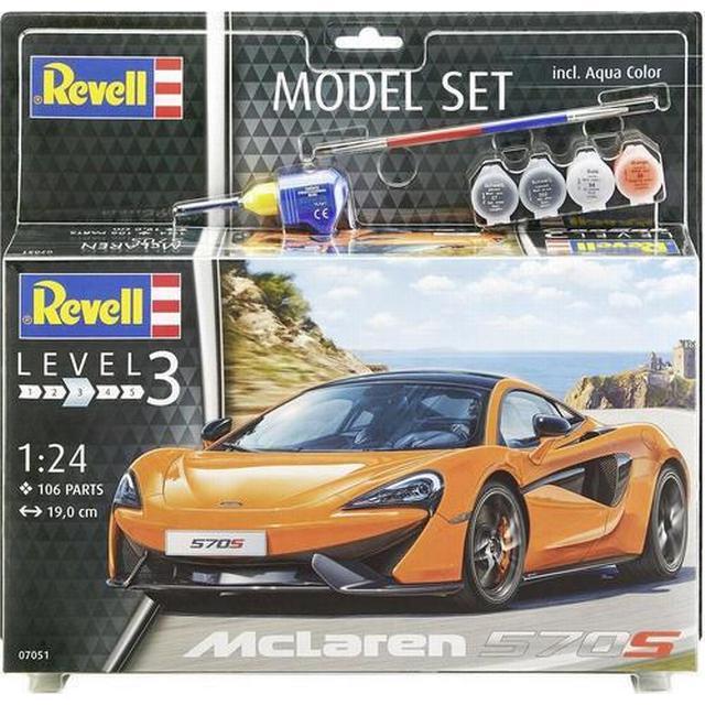 Revell 1/24 McLaren 570S Plastic Model Kit 07051
