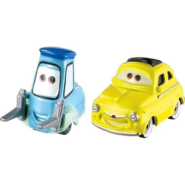 Mattel Disney Pixar Luigi & Guido Vehicles