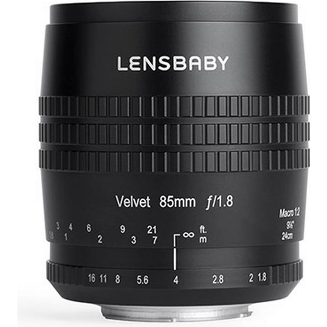 Lensbaby Velvet 85mm f/1.8 for Canon EF