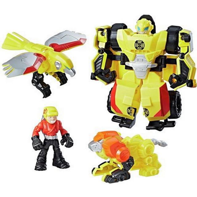 Hasbro Playskool Heroes Transformers Rescue Bots Bumblebee Rock Rescue Team C0296
