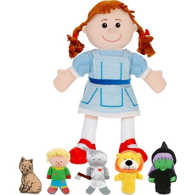 Fiestacrafts Wizard Of Oz Hand & Finger Puppet Set