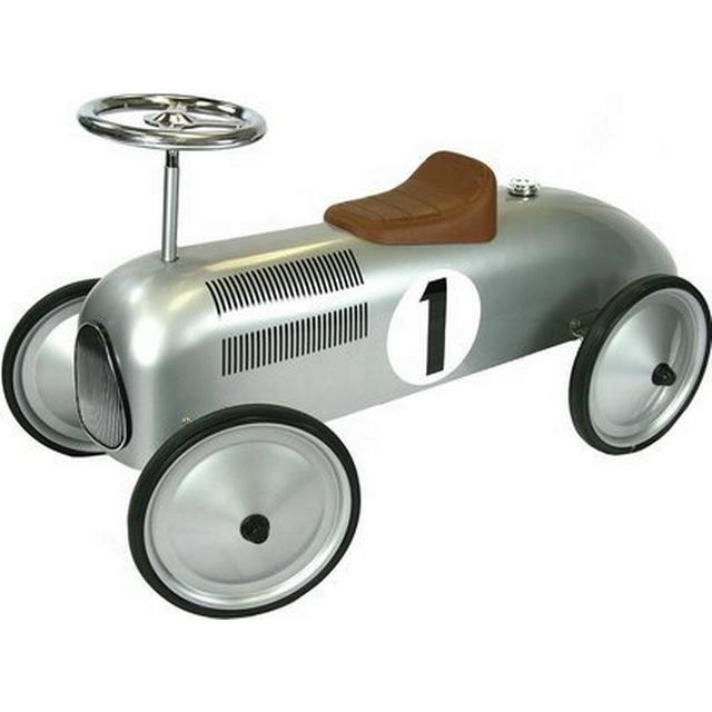 Great Gizmos Silver Classic Racer Ride On 8337