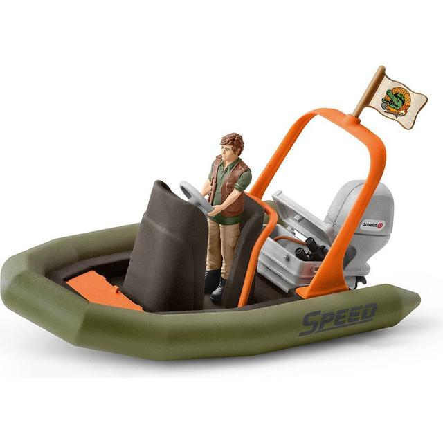 Schleich Dinghy with Ranger 42352