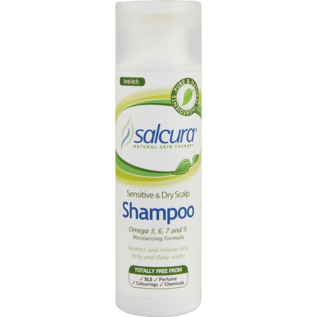 Salcuras Shampoo for Sensitive & Dry Scalp 200ml