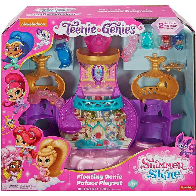 Fisher Price Shimmer & Shine Teenie Genies Floating Genie Palace