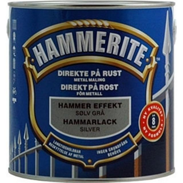 Hammerite Hammer Effect Metal Paint Silver 2.5L