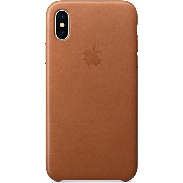 Apple Leather Case (iPhone X)