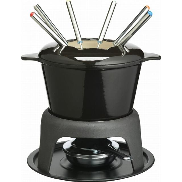 Kitchencraft Master Class Cast Iron Enamelled Fondue