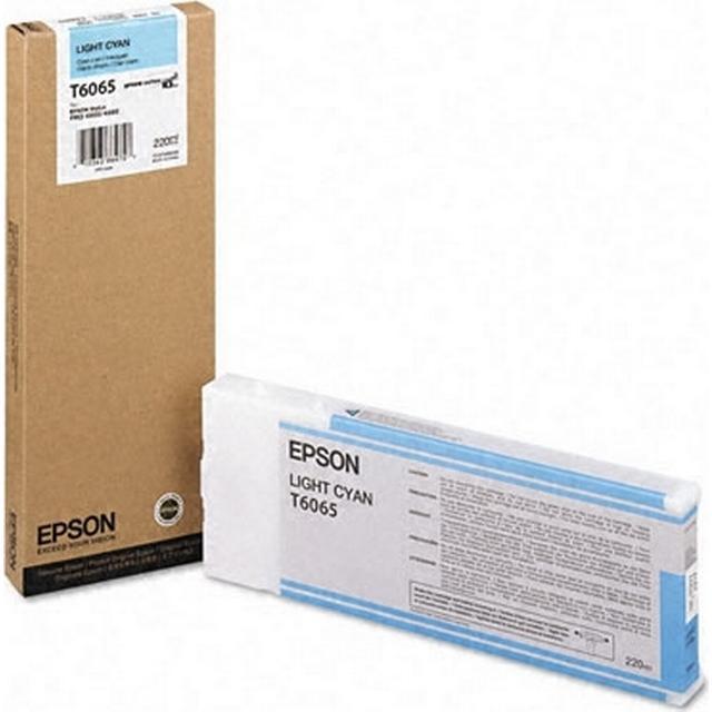 Epson (C13T606500) Original Ink Light Cyan 220 ml