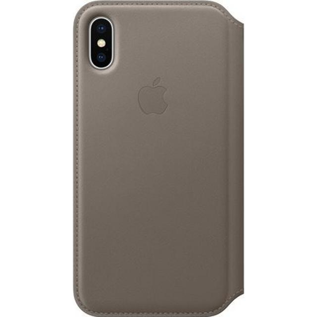 Apple Leather Folio Case (iPhone X)