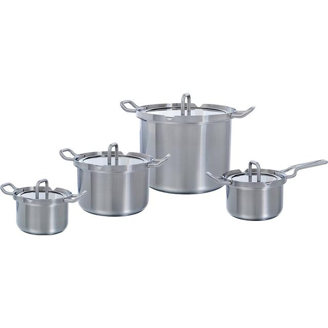 BK Cookware Q-Linair Master Set with lid 4 parts