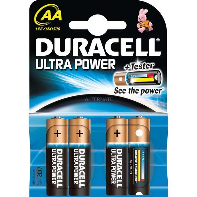 Duracell Ultra Power AA Compatible 4-pack