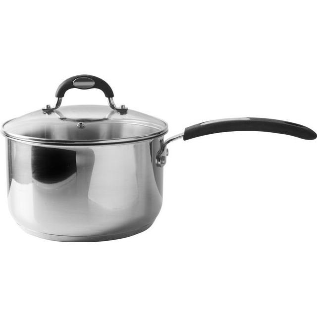 Viners Soft Grip Sauce Pan with lid 20cm