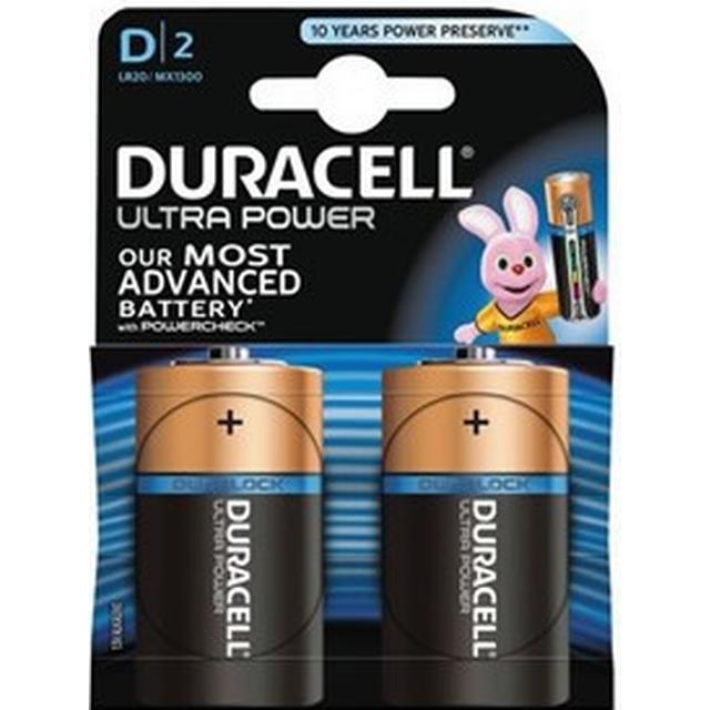 Duracell Ultra Power D 2-pack