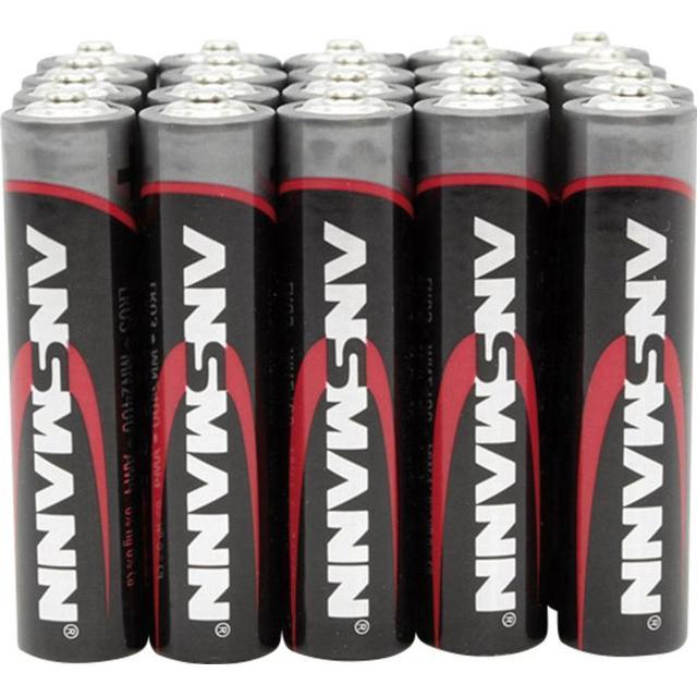 Ansmann Alkaline Micro AAA 20-pack