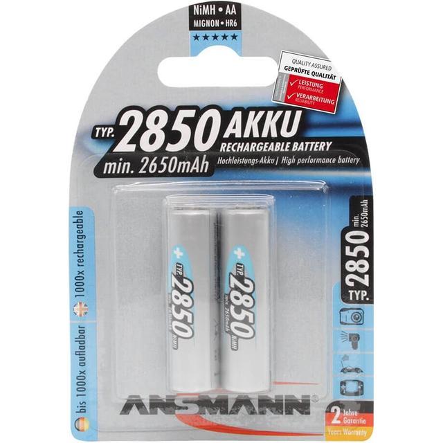 Ansmann NiMH Mignon AA 2850mAh 2-pack