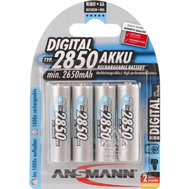 Ansmann NiMH Mignon AATyp 2850mAh 4-pack