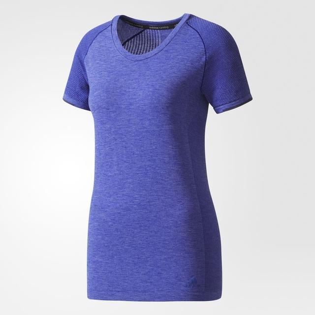 Adidas Primeknit Wool Tee Women - Purple/Mystery Ink/Black