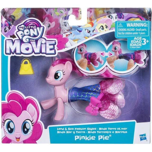 Hasbro My Little Pony the Movie Pinkie Pie Land & Sea Fashion Styles C1826