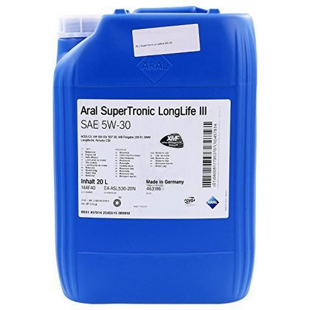 Aral SuperTronic LongLife III 5W-30 20L Motor Oil