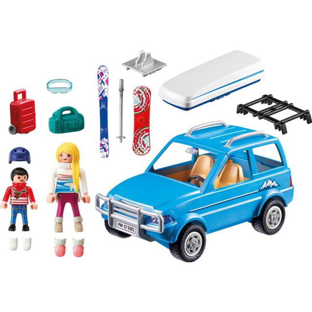 Playmobil Family Fun Winter SUV 9281
