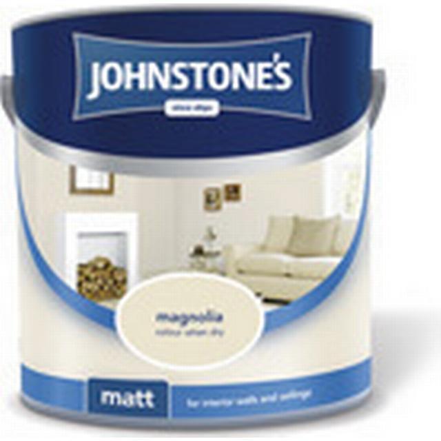 Johnstones Matt Emulsion Wall Paint, Ceiling Paint White 2.5L