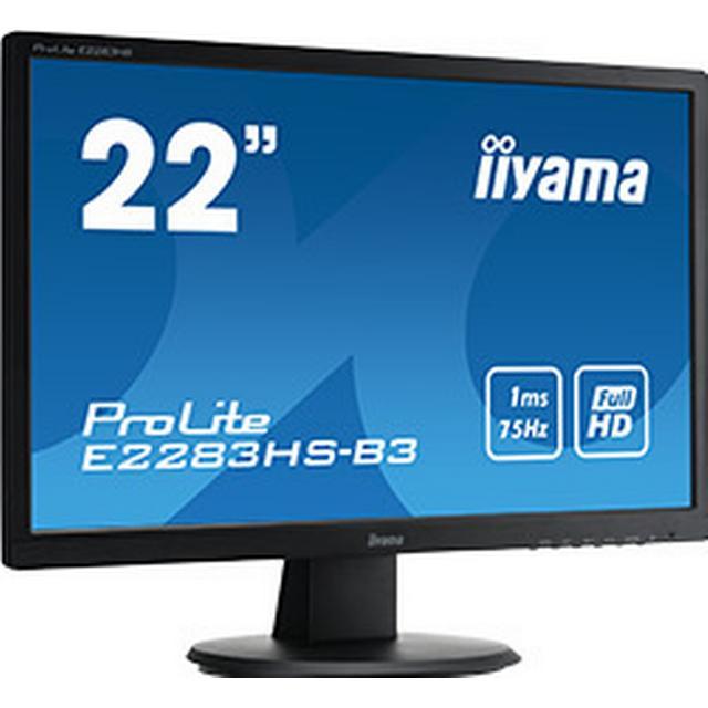 "Iiyama ProLite E2283HS-B3 21.5"""