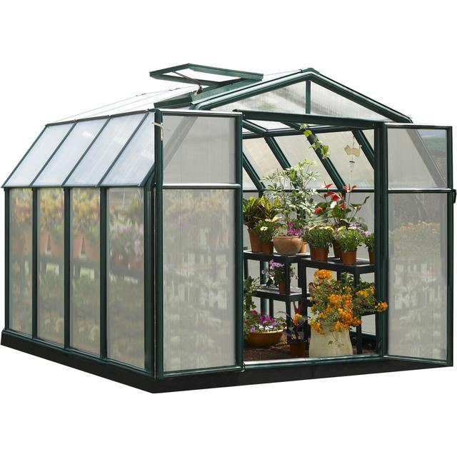 Palram Rion Hobby Gardener 7m² Aluminum Polycarbonate