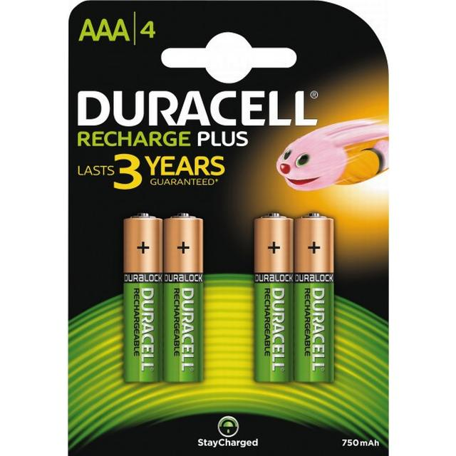 Duracell AAA Rechargeable Plus 4-pack