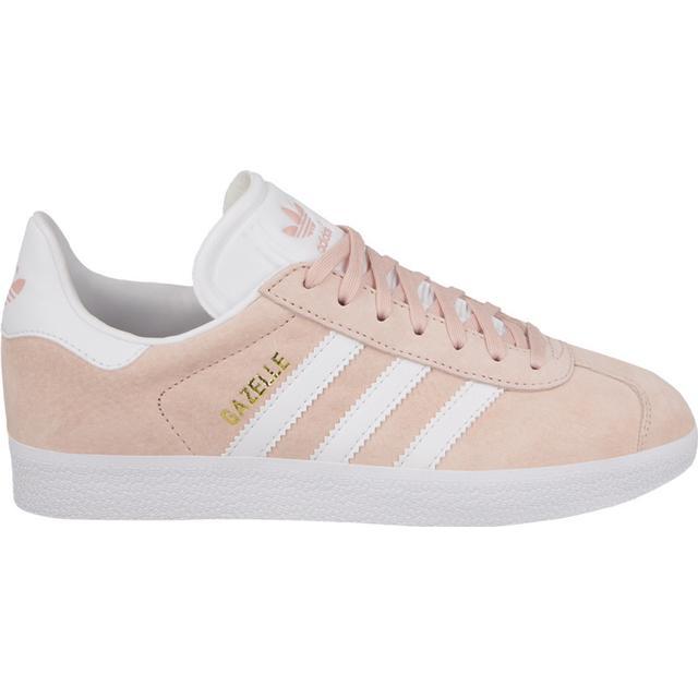 Adidas Gazelle - White/Gold/Pink